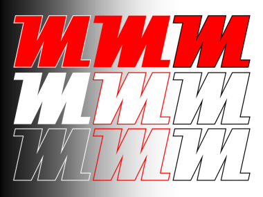 Logo M-ITS ilustrasi warna