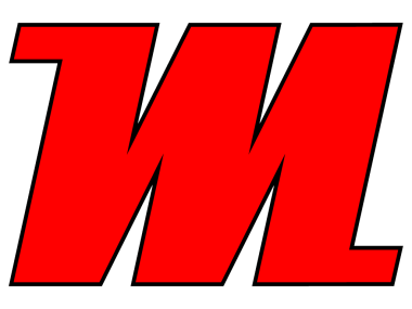 Logo M-ITS red with black list